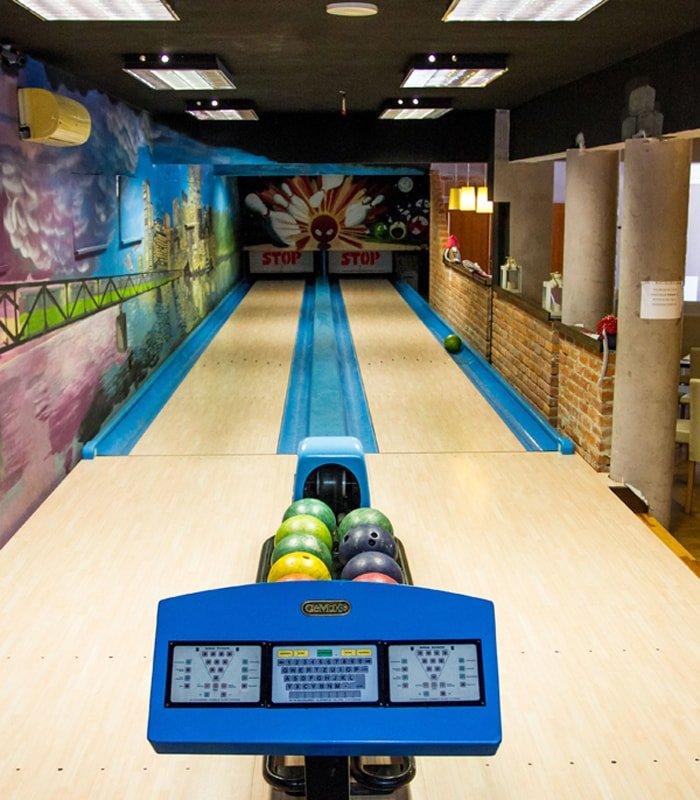 Hotel stawisko - bowling