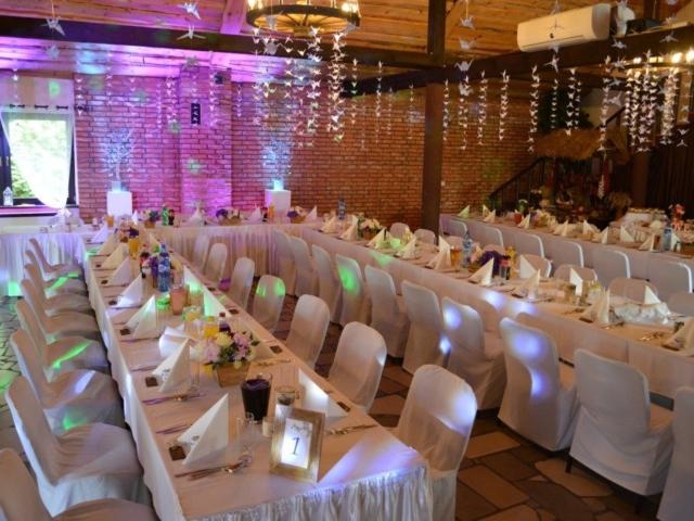 Sala weselna podWarszawą Hotel Stawisko