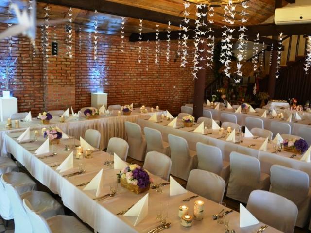 Sala weselna pod Warszawą Hotel Stawisko